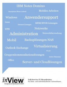 inView IT Support. Unsere Services im Überblick